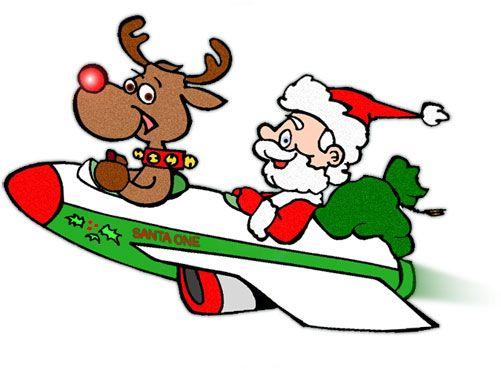 sleigh clipart animated