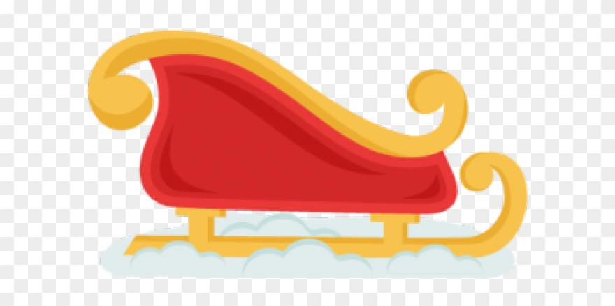 Sleigh clipart cute. Png download pinclipart