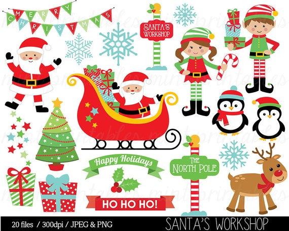 Christmas santa claus clip. Sleigh clipart jpeg