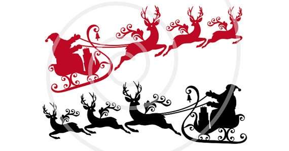 Sleigh clipart printable. Pin on vintage style