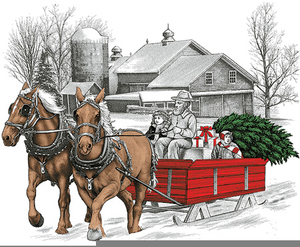 Sleigh clipart riding. Ride free images at