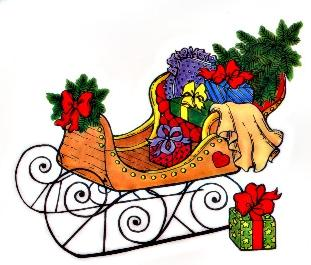 Free winter cliparts download. Sleigh clipart riding