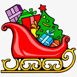 Sleigh clipart santa's slay. Free santa in cliparts
