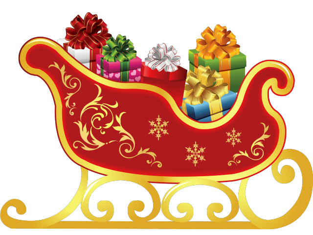 Pictures free download clip. Sleigh clipart santa's slay