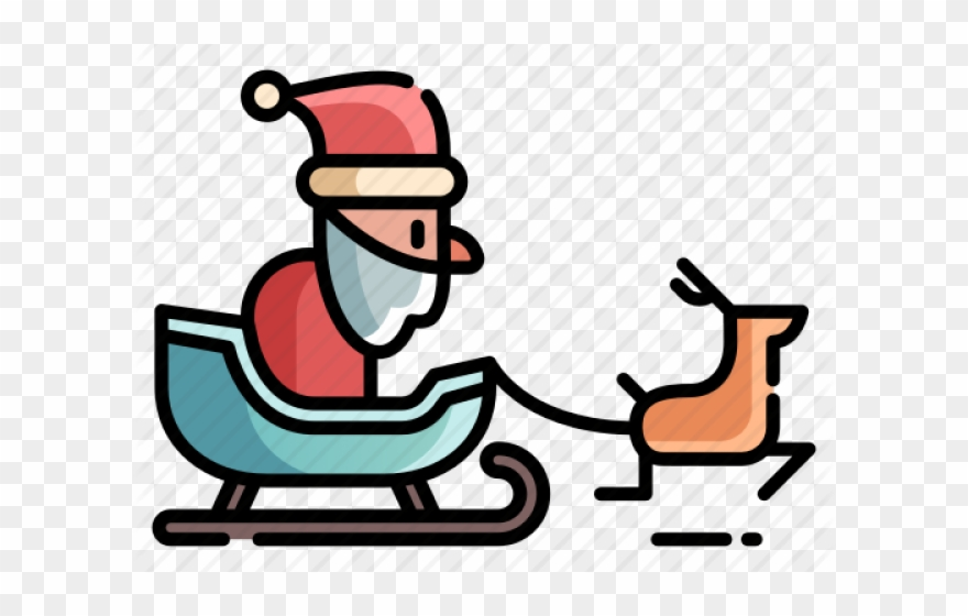 Sleigh clipart snow sled. Png download