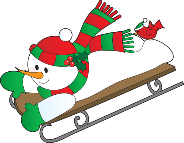 Royalty Free Clipart Image: Children Riding on a Sled | Royalty free clipart,  Christmas art, Clip art