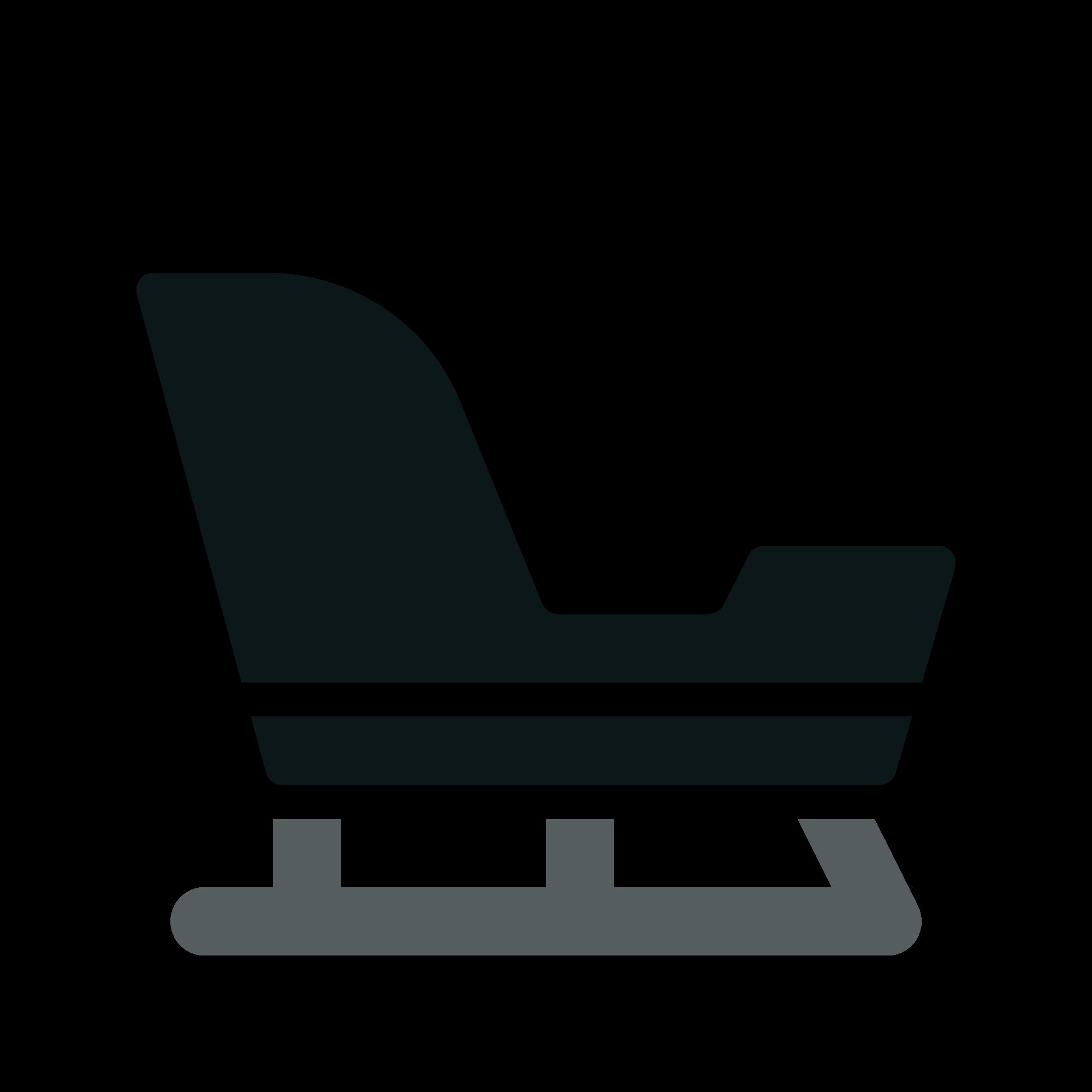 Sleigh clipart svg. File toicon icon duotone