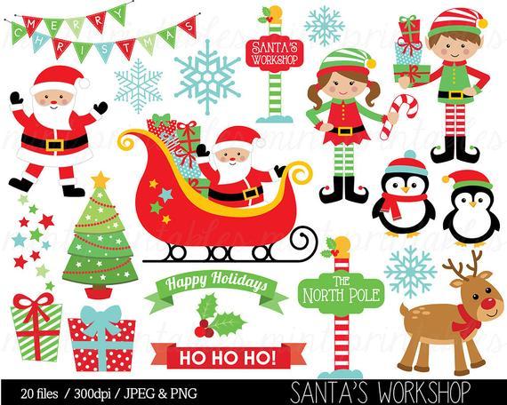 Sleigh clipart tree lighting. Christmas santa claus clip