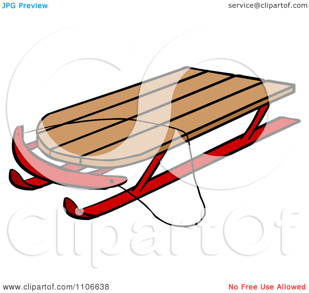 Sleigh clipart wooden sled. Sledding cliparts free download