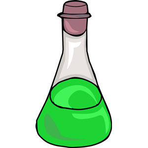 Slime clipart green liquid. Science bottle cliparts of