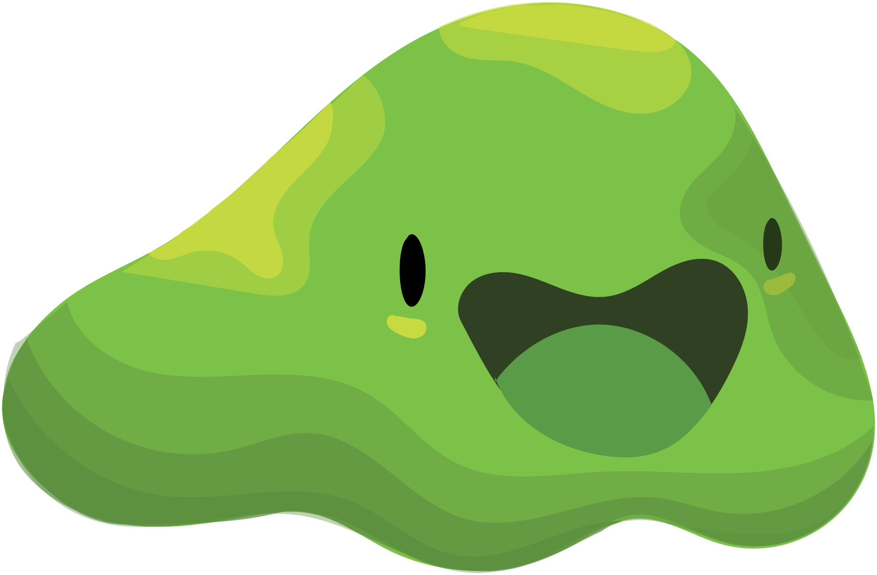 Slime swirl. Clipart transparent free for