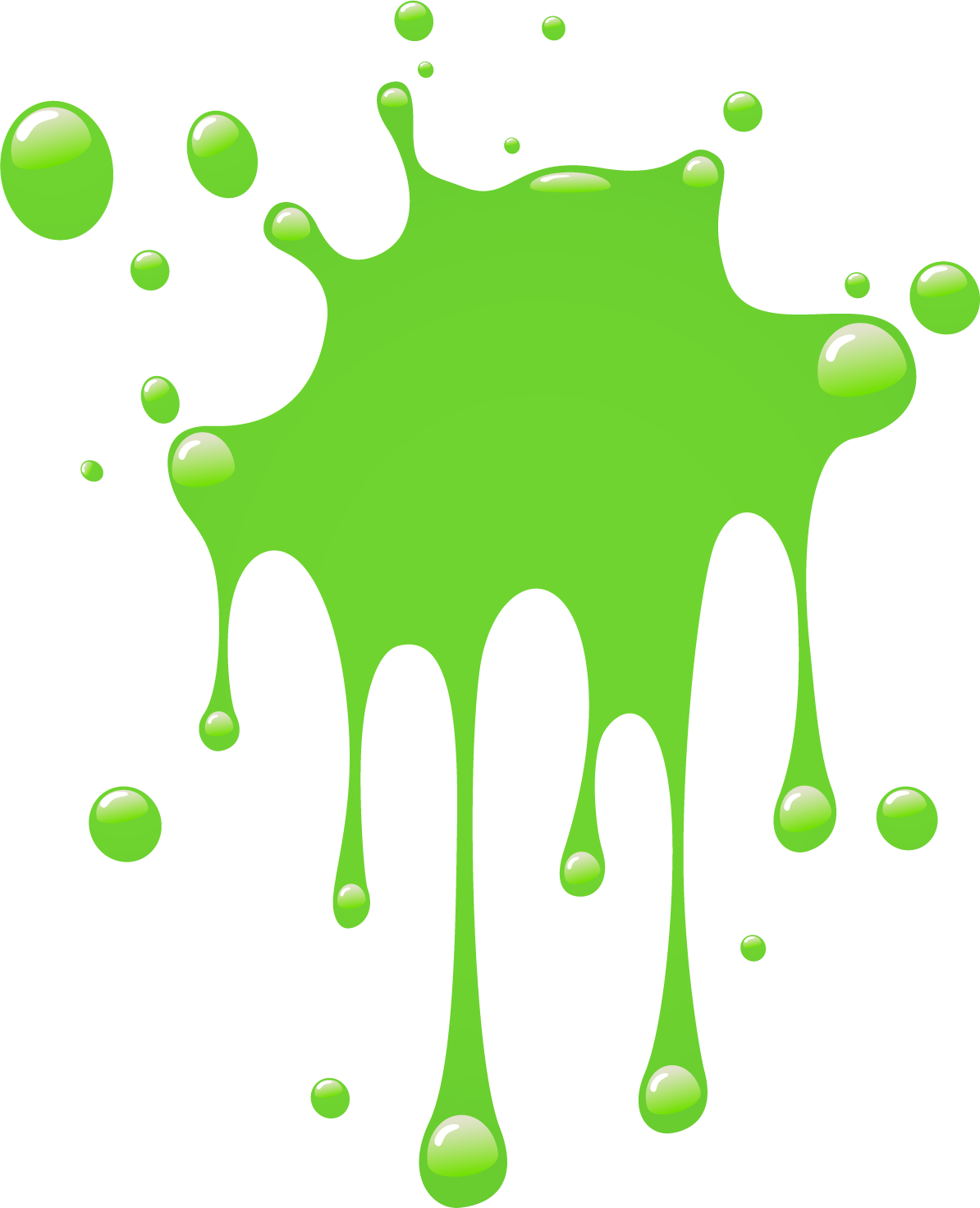 Slime transparent background