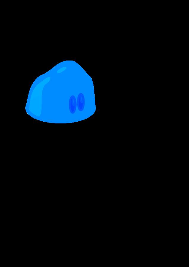 Panda free images slimeclipart. Splash clipart blue slime