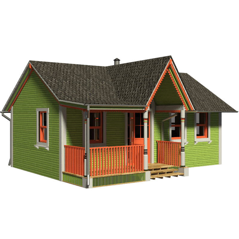 Victorian plans diana. Small house png