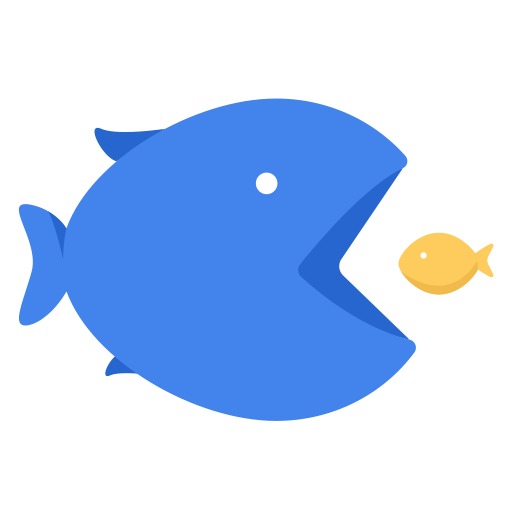 Business work fish eat. Small png images