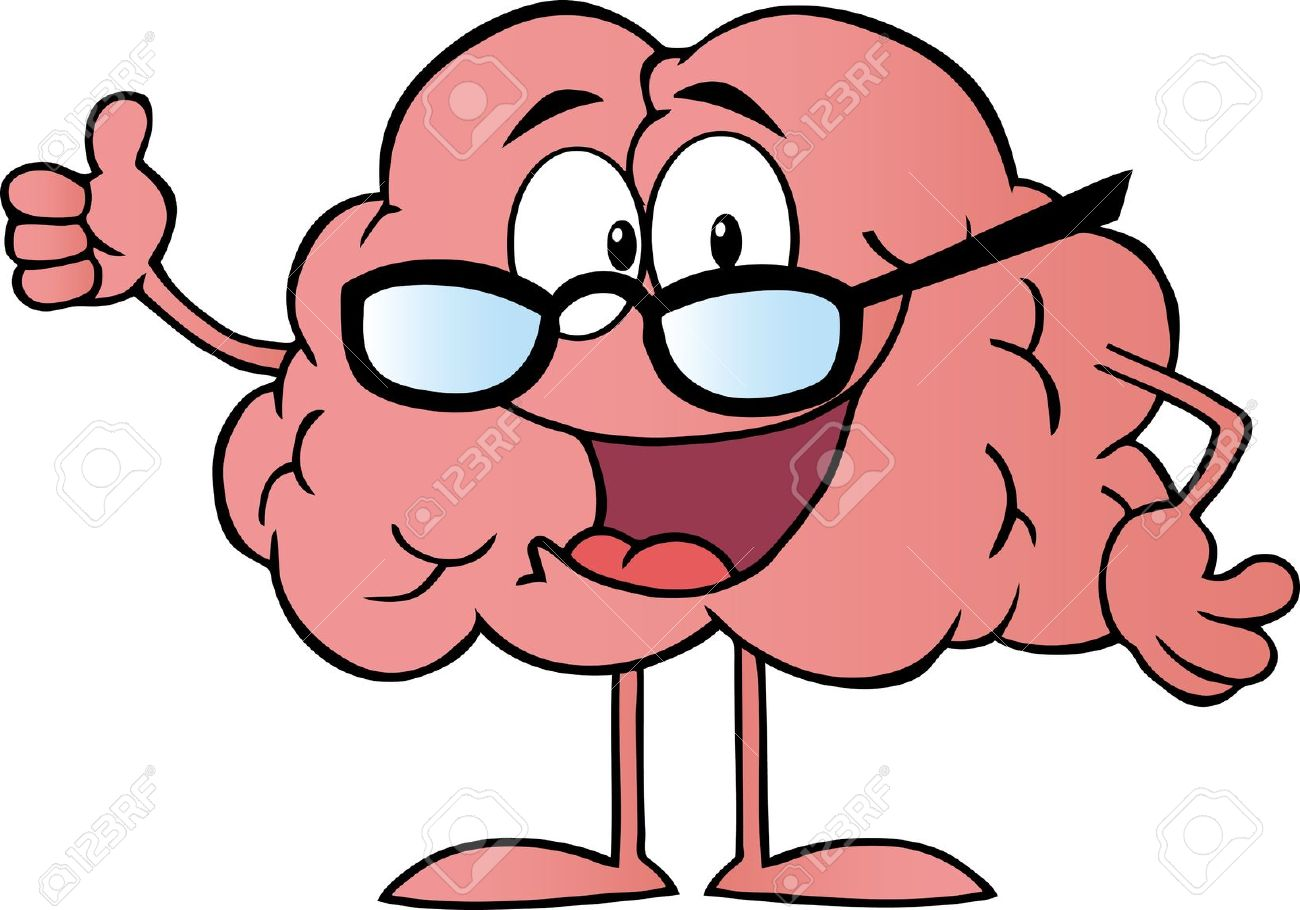 Brain . Smart clipart
