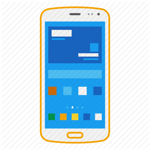Devices by monter xz. Smartphone icon png
