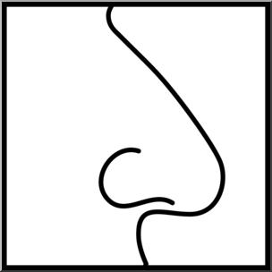 Clip art senses b. Smell clipart