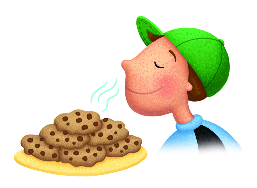 collection of taste. Smell clipart