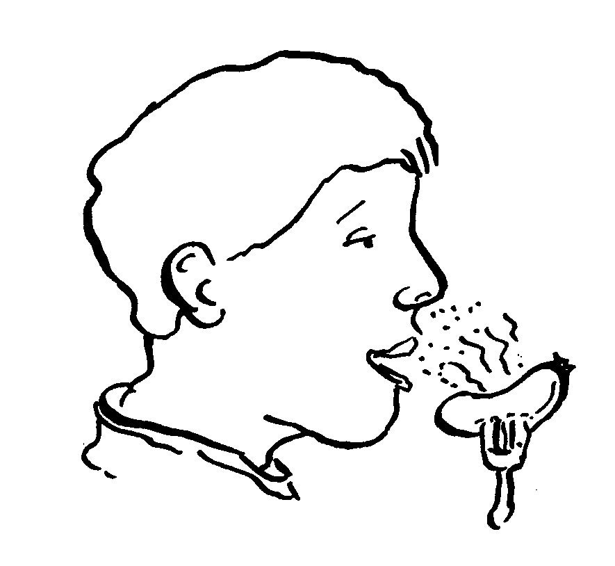 Nose smelling free download. Taste clipart smell taste