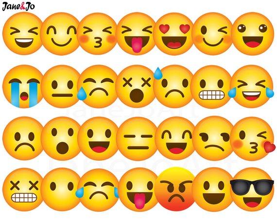 emoji clip art. Smiley clipart