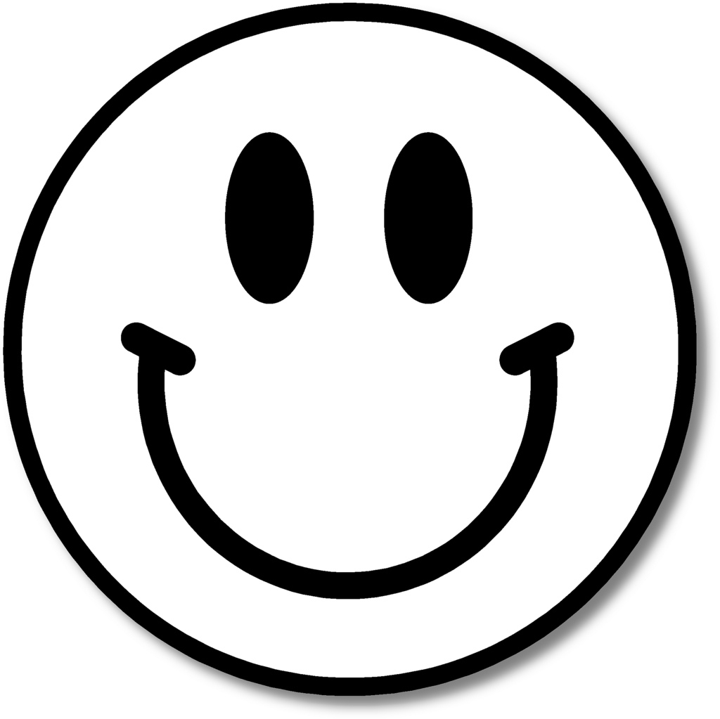 collection of black. Smiley clipart