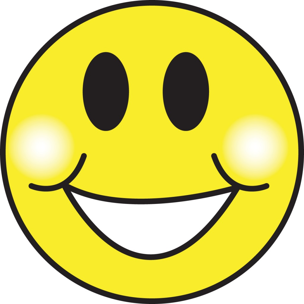 Smiley clipart. Phone