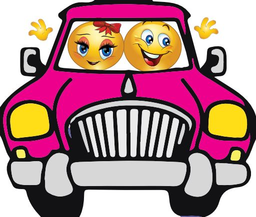 Free face cliparts download. Smiley clipart car