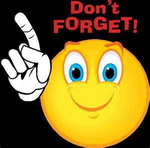 Smiley clipart reminder. Clip art library
