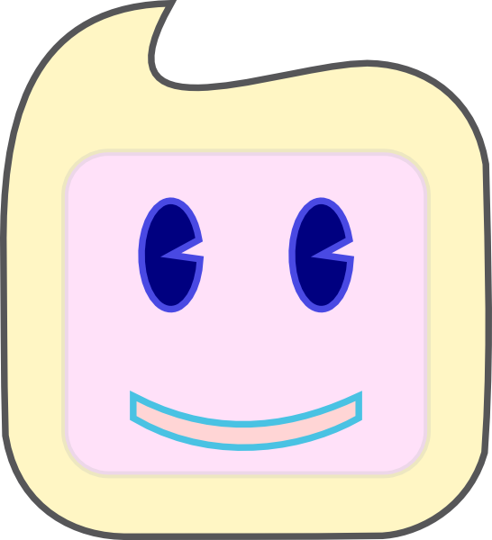 Square clipart face. Smiley clip art at