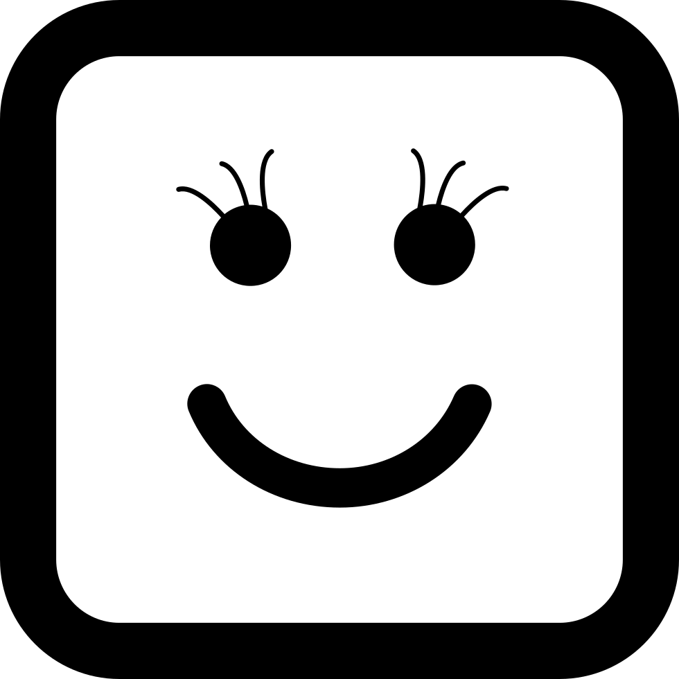 Of face shape svg. Square clipart smiley