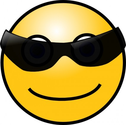 Smiley clipart sunglasses. Free face cliparts download