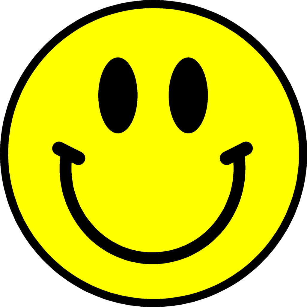 Happy face clip art. Smiley clipart