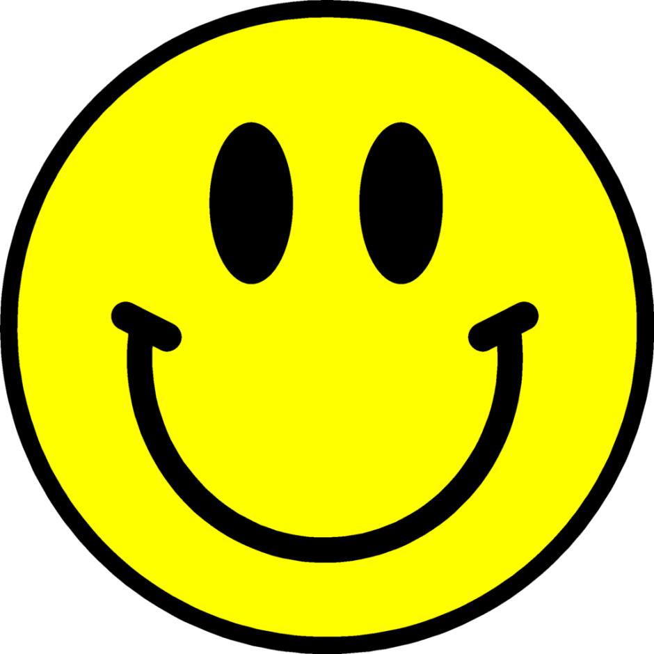 Smiley face clip art. Happy clipart clipartcow mr