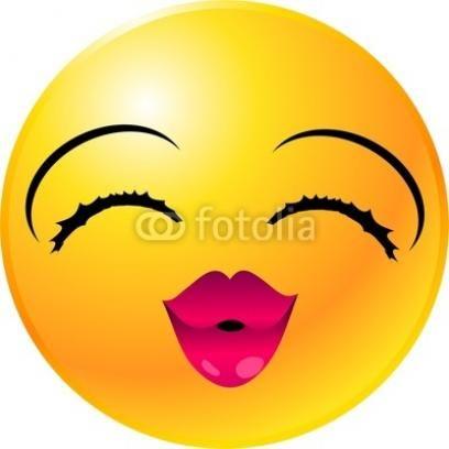 Smiley face clip art. Girl clipart panda free