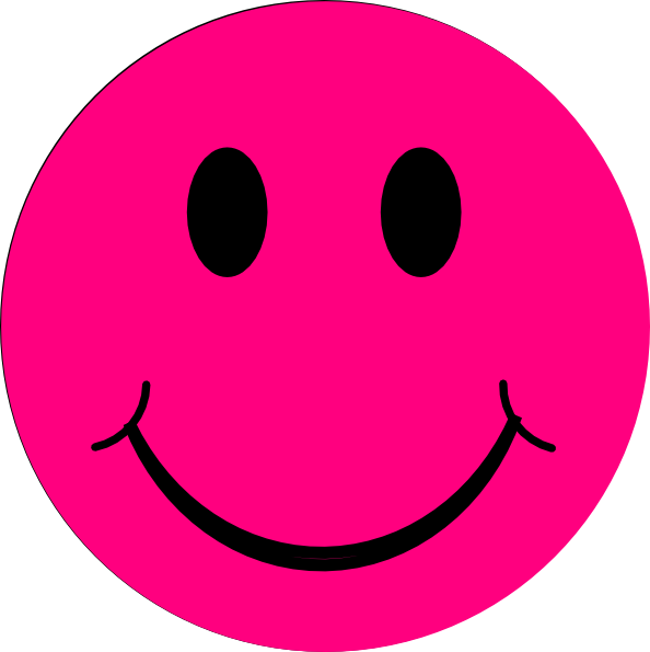 Smiley face clip art basic. Happy clipart image clipartix