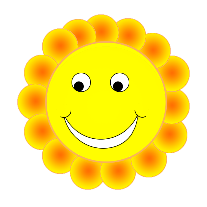 Smiley embarrassed png flower. Circle clipart face