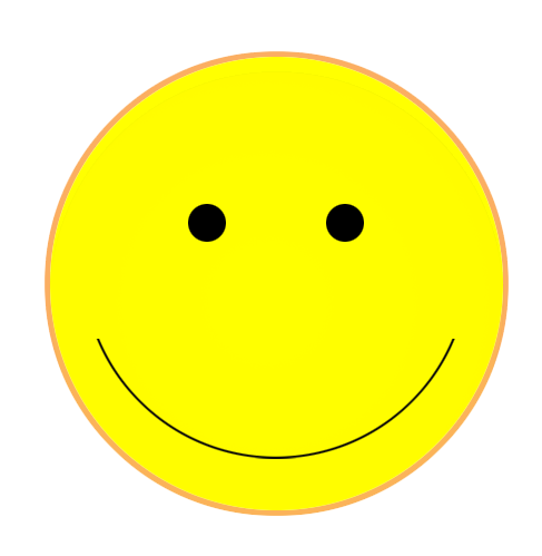smiley face clip art basic