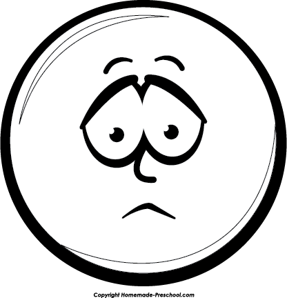Smiley face clip art black and white. Clipart google search autism