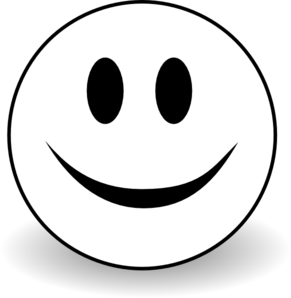 Clipart panda free images. Smiley face clip art black and white