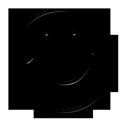 Clipart free clipartix . Smiley face clip art black and white