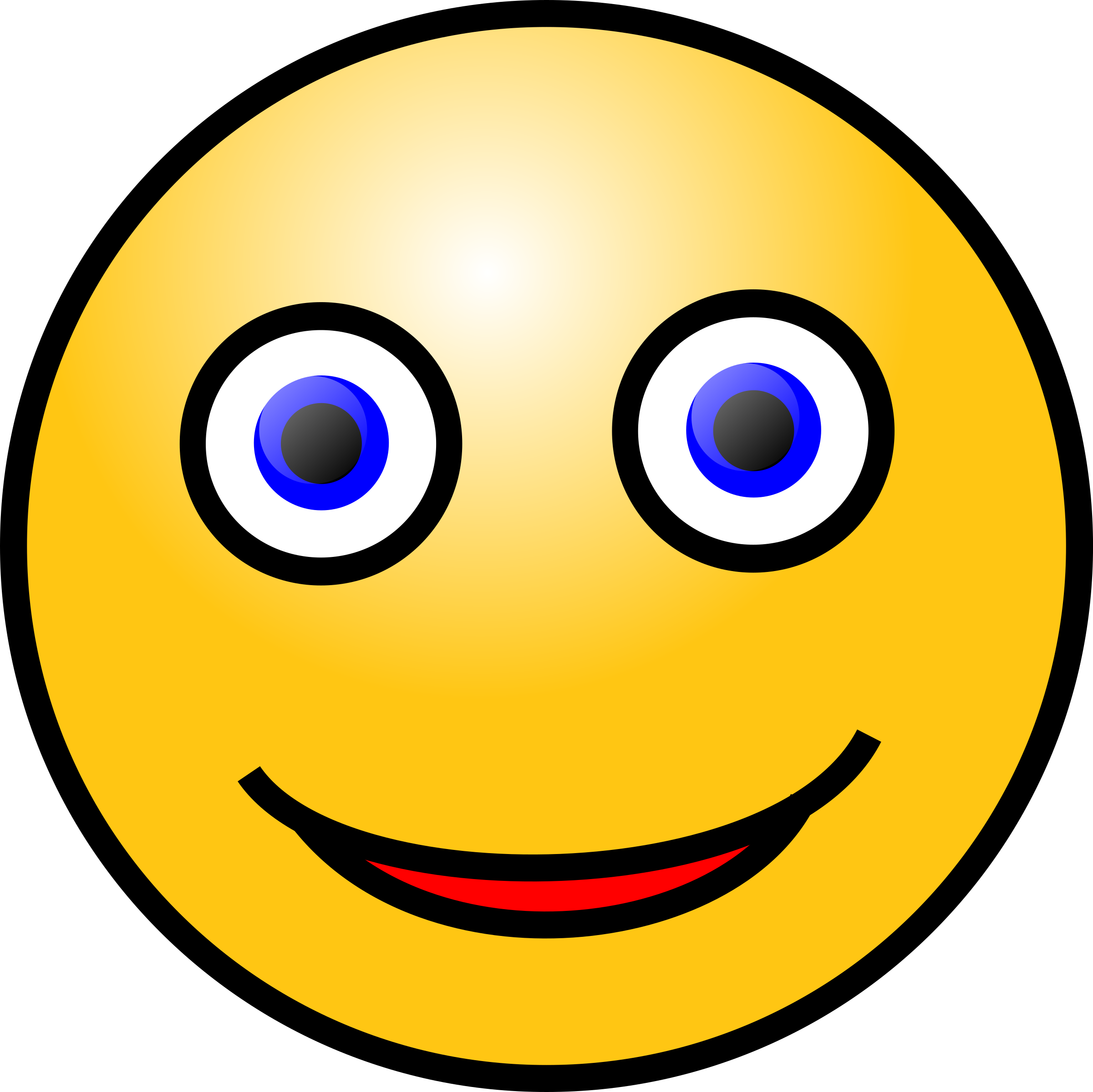 Clipart emoticons smiling big. Smiley face clip art emoticon