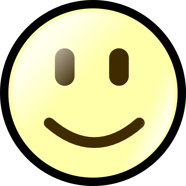 Smiley face and sad. Sunny clipart happy