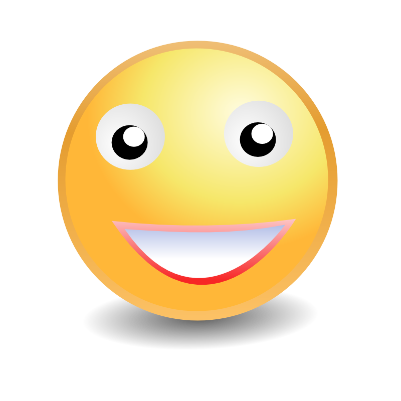 Smiley face clip art emotion. Emotions clipart library free