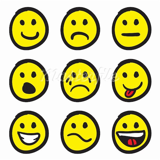 Emotions clipart smily. Smiley face clip art