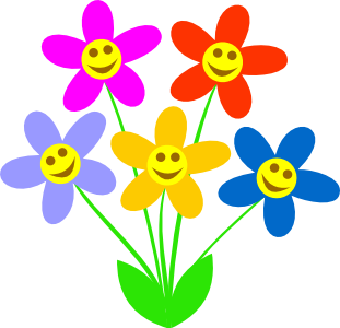 Lorraine frantz edwards page. Smiley face clip art flower