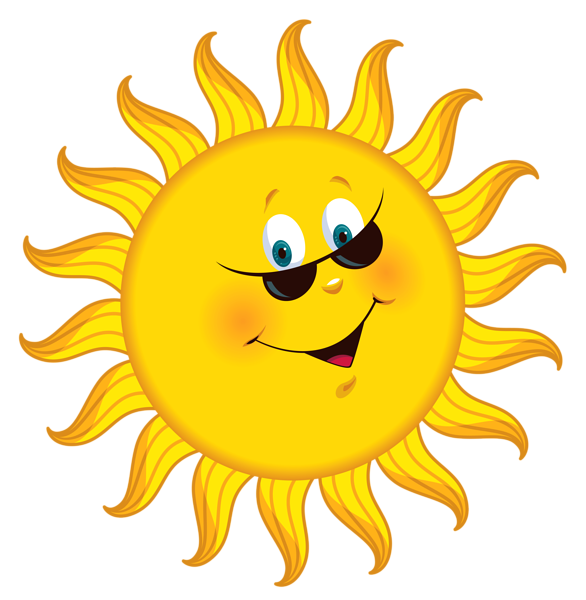 Good morning no words. Smiley face clip art flower