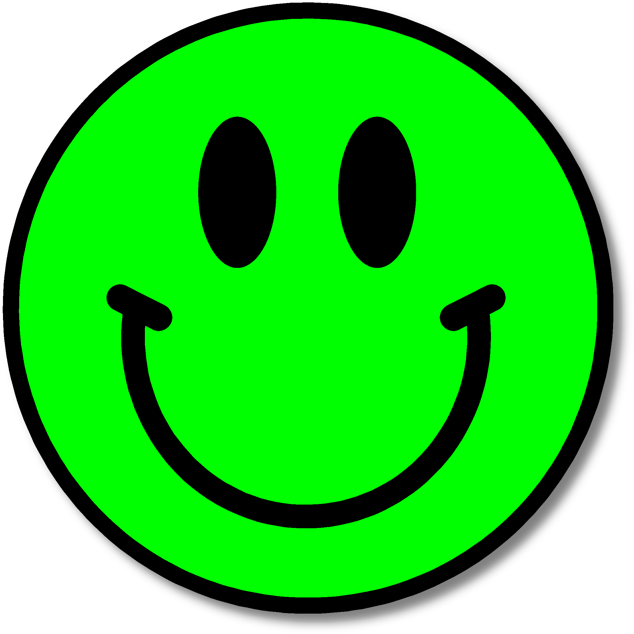 This smiley is for. Worry clipart happy face