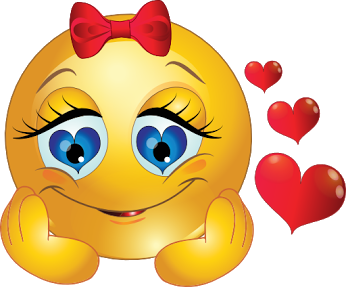 Smiley face clip art heart. Enjoy when you are