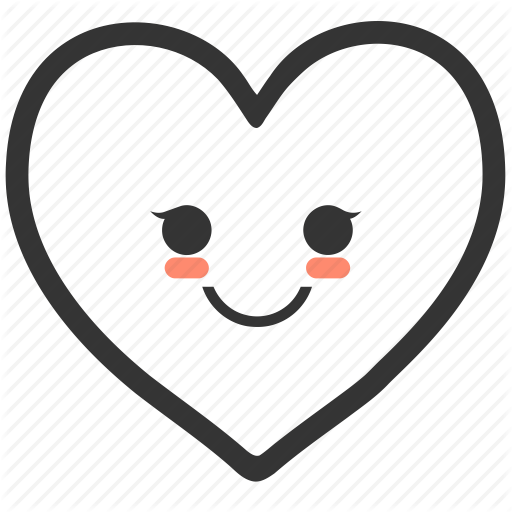 Smiley face clip art heart. Iconfinder shapes have feelings